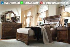Set Tempat Tidur Jati Minimalis Contoh Desain R Mewah