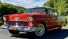 1955 Chevrolet, Older Models, S Car, Car Lights, Old Cars, Vintage Cars, Dream Cars, Chevy, Classic Cars
