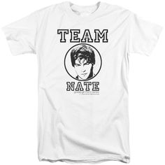 Gossip Girl/Team Nate Short Sleeve Adult T-Shirt Tall in
