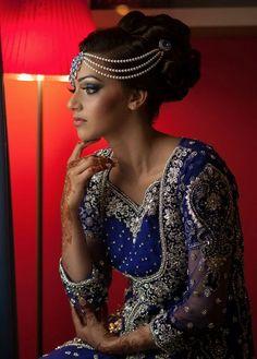 Indian Wedding Updo Hairstyle