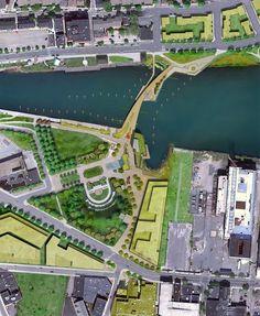 Providence River Pedestrian and Cyclist Bridge Competition Winner / inFORM Studio (2)