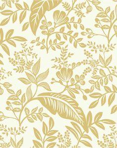 Wallpaper Paste, White Wallpaper, Wallpaper Samples, Wallpaper Roll, Foyer Wallpaper, Leaves Wallpaper, Design Thinking, San Gabriel, Rifle Paper Co