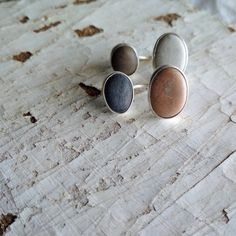 These ear jacket earrings are made of sterling silver with use of a beach stones. Silver Pearl Ring, Silver Pearls, Jacket Earrings, Stud Earrings, Ear Jacket, June Birth Stone, How To Make Earrings, Birthstone Jewelry, Artemis