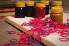 #elásticos #tintas #colorido