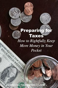 Preparing Ahead for Taxes-How to Rightfully Keep More Money in Your Pocket