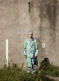 Sophie Salekari, 2012 Menswear