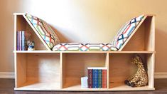 Picture of How to Build an Awesome Reading Nook With Book Storage.