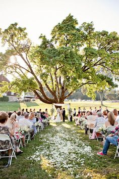 Outdoor Weddings Love the idea of petals down the aisle, flower aisle markers, and an arch for an outdoor wedding! - Oregon Wedding by Lauren Brooks Photography Wedding Ceremony Ideas, Outdoor Ceremony, Wedding Venues, Outdoor Weddings, Wedding Church, Wedding Scene, Ceremony Arch, Party Wedding, Wedding Bride
