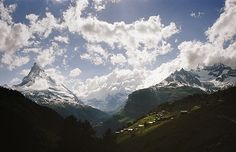 in the valley of the matterhorn by Danielle Hughson Source: Flickr