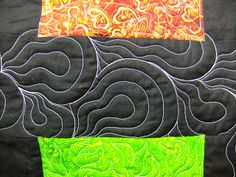 The Free Motion Quilting Project: Quilt Along #31 - Get Flowing with Lava Paisley