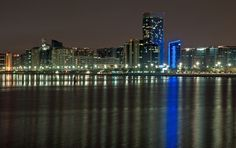 taken from the Heritage Village looking back to the corniche