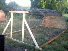 Turkey house hoop house or stand alone building whats your thoughts? Cheap Chicken Coops, Chicken Coop Run, Chicken Tractors, Building A Chicken Coop, Chicken Runs, Chicken Life, Hoop House Chickens, Chickens Backyard, Quail Coop