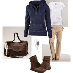 Comfy Hoodie!, created by heather-rolin.polyvore.com
