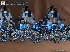 Sapphire Necron Army