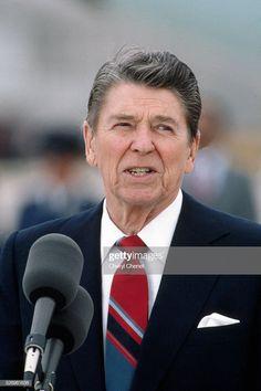 Ronald Reagan gives a speech in Washington, DC prior to. News Photo : President Ronald Reagan gives a speech in.News Photo : President Ronald Reagan gives a speech in. President Speech, 40th President, President Ronald Reagan, Former President, Reagan Speech, John Q, John Tyler, William Mckinley, Nancy Reagan
