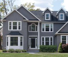 """7"""" Staggered Shake on Whole Home #siding"""
