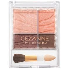CEZANNE Airy touch Eye shadow 02(Coral Brown) *** See this great product. (This is an affiliate link) #EyeMakeup
