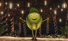 Who is Sprout Boy? BBC unveils new Christmas 2015 advert with the stars of Doctor Who, Luther and Sherlock in animated form