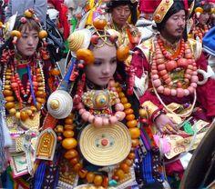 *|* Tibetan traditional jewellery and adornment