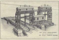 Development of the Carfloat Transfer Bridge in New York Harbor