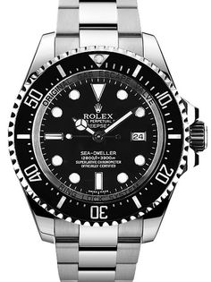 Rolex Sea Dweller DEEPSEA Black Index Dial 116660