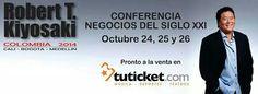 Conferencia Robert Kiyosaki - 24 25 y 26 de Octubre