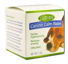 Lumino Canine Calm Balm 1 oz ^^ More infor at the link of image  : Dog Health Supplies