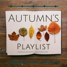 Hello October! Be good to me and I will be good to you! Here is a mixtape to show my sincerity in this offer. #hellofall #mixtape