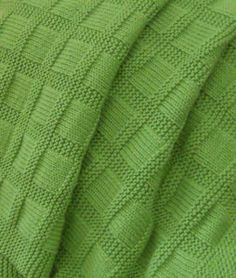 Free Knitting Pattern for Sunny Baby Blanket