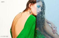AQUARIUM - Fashion Editorial by JULIA ROMANOVSKAYA