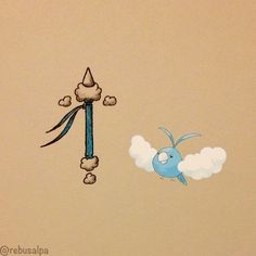 Swablu's spirit weapon: the beginners weapon for flying types. Can do little things like create harmless winds. Conditions to wield: can be found in your local staff store!