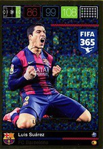 Panini Adrenalyn XL FIFA 365 Luis Suarez Limited Edition #laliga #bfc