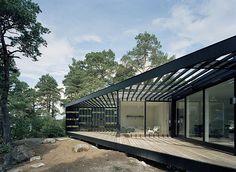 Archipelago House by Tham & Videgård Arkitekter, location:  Stockholm archipelago, Sweden