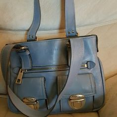 Authentic Marc Jacobs light blue handbag Authentic Marc Jacobs similar new edition saddle  barely used please see the last picture Marc Jacobs Bags