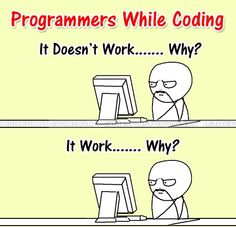 Programmers while working)