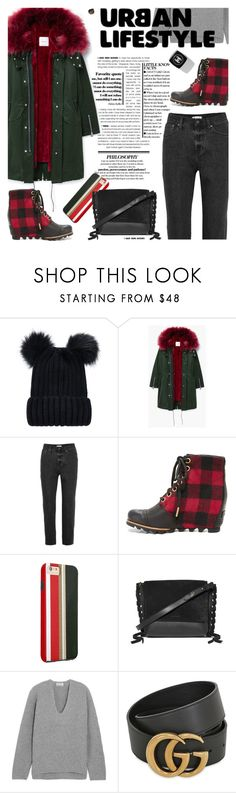 """""""Urban style"""" by cilita-d ❤ liked on Polyvore featuring MANGO, Madewell, SOREL, Isabel Marant, Acne Studios, Gucci and Chanel"""