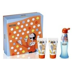 I Love Love Gift Set 3PC by Moschino  I Love Love Perfume 1.7 oz  I Love Love Shower Gel 1.7 oz  I Love Love Body Lotion 1.7 oz