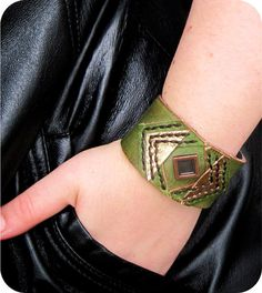 SALE was 24 USD Avengers Loki Leather Cuff by maycily on Etsy, $18.00