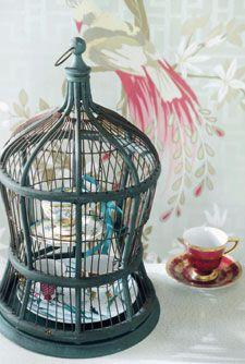 Brocante vogelkooi uit de brocante special 3 2011