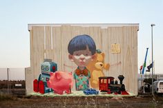 Etam Cru New Mural For Memorie Urbane - Gaeta, Italy