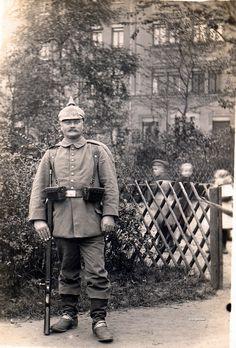infantryman, 1914