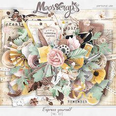 Didinou Scrap -  Express yourself de Caro Moosscrap Moses en boutique ici  ... http://www.oscraps.com/shop/MoosScraps/ http://digital-crea.fr/shop/index.php?main_page=index&cPath=155_333
