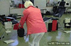 90-year-old grandma does a double back flip! lolz