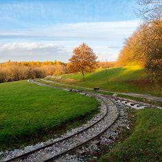 railway on Katarinka Slovakia Dechtice Medieval, Country Roads, Mountains, Nature, Travel, Railings, Naturaleza, Viajes, Mid Century