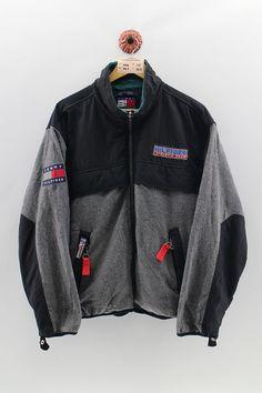 TOMMY HILFIGER Snow Jacket Men Medium Vintage 1990s Tommy