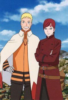 #Gaara and #Naruto