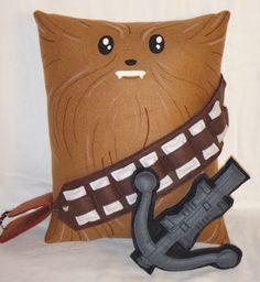 ★ Handmade Star Wars Chewbacca with Bowcaster v1.43 Fan Art Plush Pillow ★ #maytheforcebewithyou #theforceawakens #jedi #lukeskywalker #darthvader #sith #scifi #sciencefiction #movies #celebrities #celebrity #hollywood #georgelucas #bedroom #bedding #homedecor #roomdecor #fangirl #fanboy #birthday #holiday #ideas #partyfavor #gift #toy #doll #plushies #pillowpet #fandom #fanartmerchandise ★ http://www.rbitencourtusa.com/#!product/prd1/4453216101/handmade-star-wars-chewbacca-v1.43-pillow ★