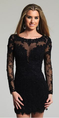 Sexy Little Black Homecoming Dress. Colors: Black. Size: 0-12