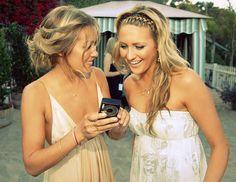Lauren Conrad and Stephanie Pratt