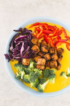 Sopa de curry vegetal   danzadefogones.com #vegan #vegano